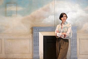 Lucy McKenzie in der Ausstellung ‹Prime Suspect›, 2020, Ausstellungsansicht Museum Brandhorst.Foto: Robert Haas