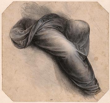 Léonard de Vinci · Studie für die Heilige Anna, um 1507–1510, 23x24,5 cm, RMN-Grand Palais (musée du Louvre).Foto: Michel Urtado