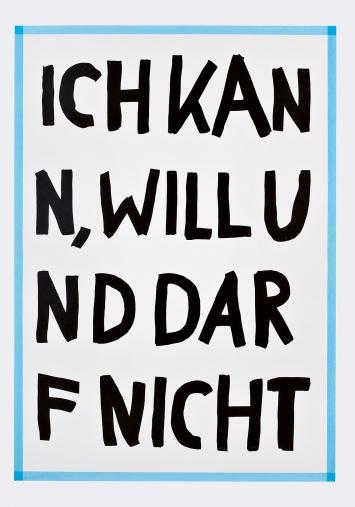 Tonjaschja Adler · ABC der UnMöglichkeiten, 2019, Siebdruckplakate ©ProLitteris