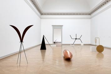 Iman Issa · Installationsansicht Kunstmuseum St.Gallen.Foto: Sebastian Stadler
