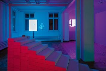 Barbara Signer und Michael Bodenmann · Work Life Balance, 2020, Ausstellungsansicht Nextex St.Gallen.Fotos: Flavio Karrer