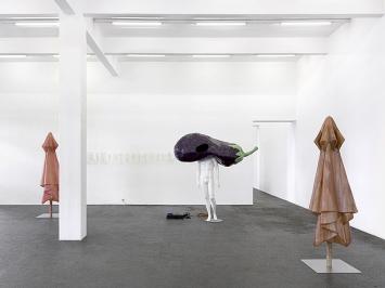 Alfredo Aceto und Denis Savary · Ambarabà Ciccì Coccò, 2021, Ausstellungsansicht.Foto: Annik Wetter