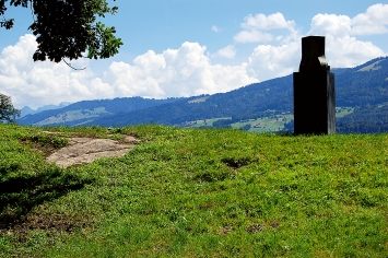 Willy Wimpfheimer · Figur III, Wachtturm, InselUfenau