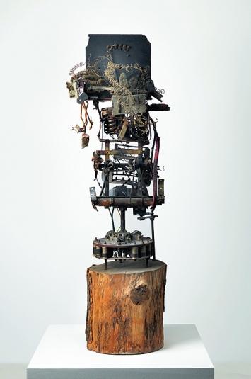 Jean Tinguely · Totem No. 2 oder Dr wild Ma, 1960 ©ProLitteris