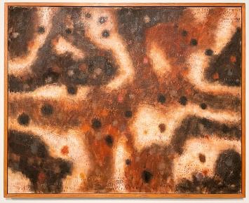Zoran Mušiç · Terre dalmate, 1959, Öl auf Leinwand
