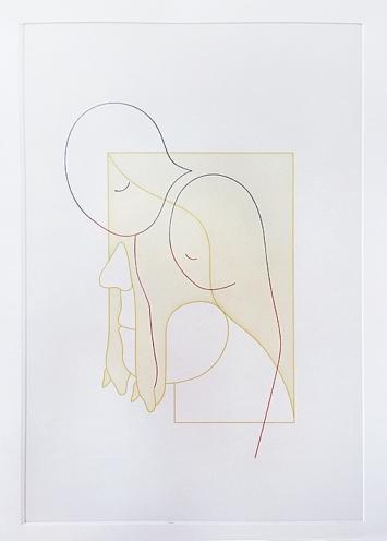 Yves Netzhammer · Photoätzung und Aquatinta, 2019