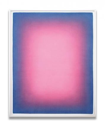 Slawomir Elsner · Aus der Serie Just Watercolors (070), 2020, Aquarell auf Papier, 146x116cm