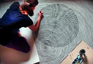 Livia Salomé Gnos · Concentrations, 2018, Atelieraufnahme Montreux