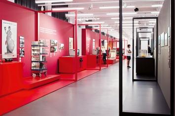 SBB CFF FFS, Ausstellungsansicht Museum für Gestaltung, 2019, Courtesy ZHdK