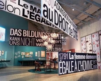 Blick in die Ausstellung.Foto: Schweizerisches Nationalmuseum