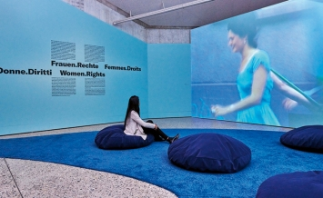 Pipilotti Rist · Ever is Over All, 1997, Audio-Video-Installation, Courtesy Hauser & Wirth und Luhring Augustine