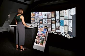Temps passé, temps réel, 2019, interaktive Installation, Courtesy EPFL+ECAL Lab