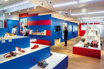 Bally Das Geschäft mit dem Schuh, Ausstellungsansicht Museum für Gestaltung Zürich, 2019
