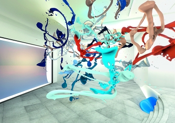Banz & Bowinkel · VR Bodypaint 01, 2019, Virtual Reality Sculpture, Courtesy of Roehrs & Boetsch