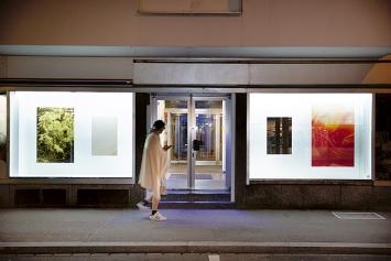 Gabriel Flückiger · (prisms) XIV, 2021, Ausstellungsansicht Die Diele, Zürich.Foto: Livio Baumgartner