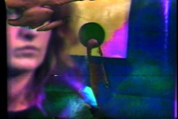 Keith Sonnier · TV In + TV Out, 1972, Filmstill, Farbfilm mit Ton, 12', Courtesy Häusler Contemporary München/Zürich ©ProLitteris