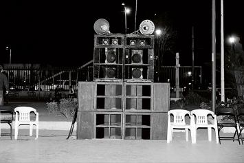 Mirjam Wirz · Soundsystem Mexiko, 2015 ©ProLitteris