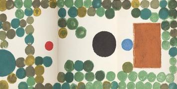 Warja Lavater · Rotkäppchen, 1960, New York, Tinte und Gouache (Ausschnitt) ©ProLitteris