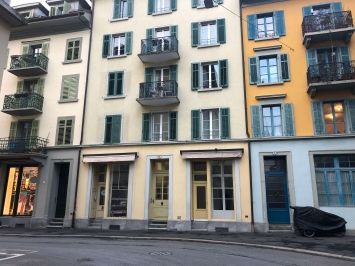 Strassenansicht der Löwengalerie am Löwenplatz 6, 6004 Luzern