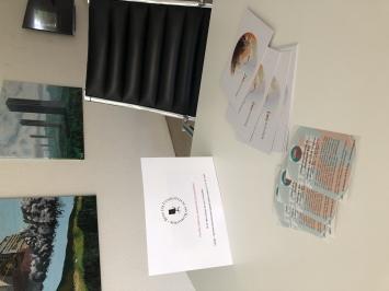 Noah Engweiler + Klimastreikende- Büro für Unterstützung des Klimastreik im Kunstraum Egg