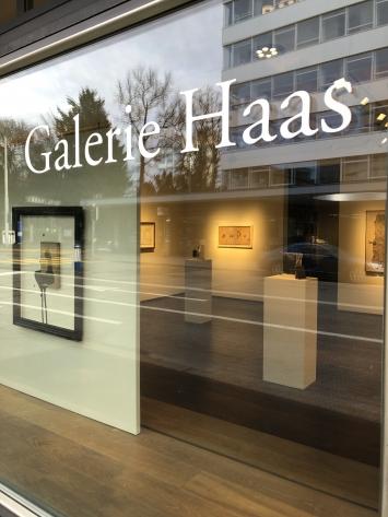 Galerie Haas Zürich, Foto: Yves Roth