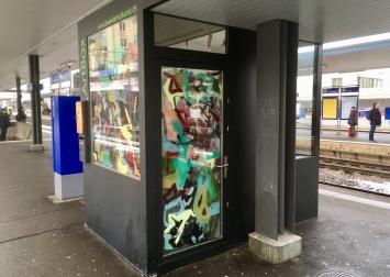 ArtBox > Perron 6, Bahnhof Thalwil