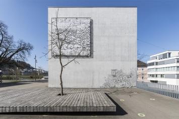 GRRR (Ingo Giezendanner), Ohne Titel, 2010, Kunst im öffentlichen Raum der Stadt St.Gallen, Fotografie: Anna-Tina Eberhard, St.Gallen