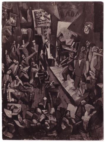Marcel Janco, Cabaret Voltaire, 1916