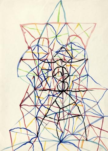 Josef HerzogUntitled, 1978Watercolor70 x 50cmcourtesy:www.nicolaskrupp.com