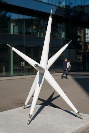 Jorge Macchi,Illumination,2012, Maagplatz, Zürich.(Zement, Metall, 290 × 215 × 220 cm)© Taiyo Onorato & Nico Krebs / Kunst im öffentlichen Raum Zürich («Gasträume 2020»)Courtesy: die Künstlerin und Galerie Peter Kilchmann, Zürich