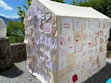 """Kathrin Stalder: Soziale Installation """"Heimat"""""""