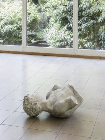Thomas Julier,Disabled Satyr, Kunsthaus Glarus:Sie sagen, wo Rauch ist, ist auch Feuer, 2017, Installationsansicht,Foto: Gunnar Meier