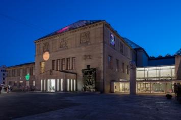 Pipilotti Rist, Tastende Lichter, 2016/2020, Courtesy Kunsthaus Zürich und Amt für Städtebau. Foto: Juliet Haller