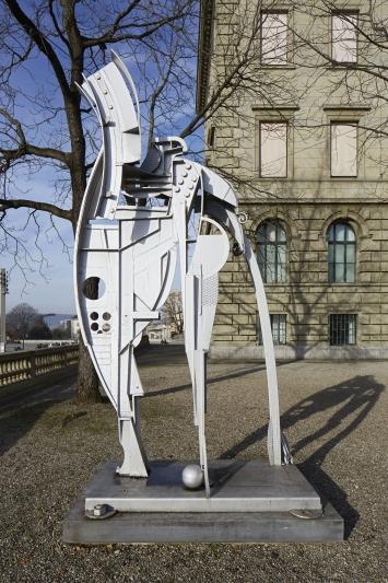 Silver Ghost, Kunstinventar der ETH Zürich, Inv. Nr. Ki-00169
