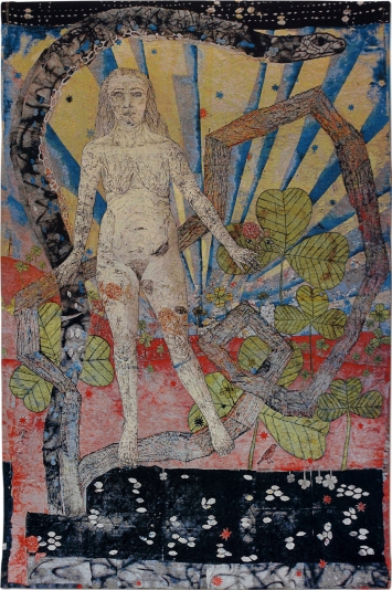 Kiki Smith, Earth, 2012, Jacquard-Tapisserie Baumwolle, 287 cm × 2'316,5 cm