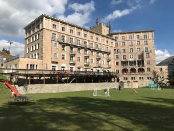 Hotel Castell Außenansicht, Foto: Heiko Klaas