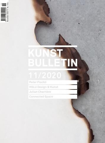Peter Fischli · Papierarbeiten, 2020, 16 Stück (Detail), Papier, Leinwand, Holz, Ausstellungsansicht 3. OG, Kunsthaus Bregenz.Foto: Markus Tretter