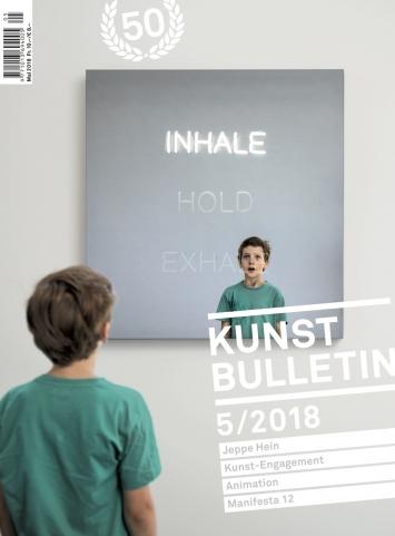 TITELBILD · Jeppe Hein · INHALE HOLD EXHALE, 2016, Courtesy König Galerie, Berlin; 303 GalleryNew York; Galleri Nocilai Wallner, Kopenhagen.Foto: Hendrik Albrecht
