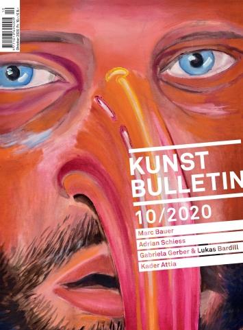 Marc Bauer · Trauma I, 2020 (Detail), Öl auf Leinwand, 70 x 50 cm, Courtesy Galerie Peter Kilchmann