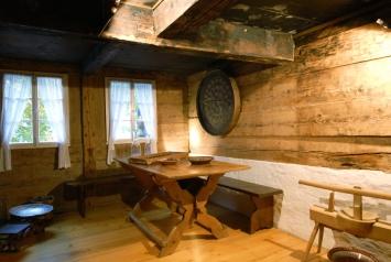Die Küche des 1786/87 erbauten Wohnhauses.