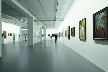 Kunstmuseum Singen, Innensicht ErdgeschossFoto Frank Müller, Gottmadingen, © Kunstmuseum Singen, Stadt Singen, VG Bild-Kunst, Bonn 2020