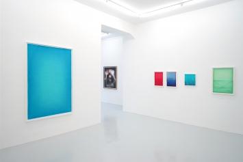 Installationsansicht Ausstellung Slawomir Elsner: Narziss und Echo, 2017