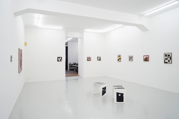 Installation shot.Clare Goodwin – DIDN'T I TELL YOU, I THINK I DID: Ceramics, Paintings, Objects, 24 October – 5 December 2020, Lullin + Ferrari
