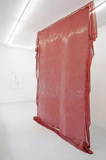 Installationsansicht, Einzelausstellung Katja Schenker, Lullin + Ferrari 2021