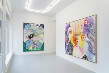 Installationsansicht, EinzelausstellungKlodin Erb, Lullin + Ferrari 2021