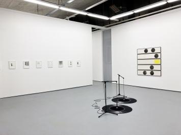 Luigi Archetti - RauschenAusstellungsansicht Raum 1Kunsthalle 8000