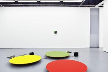 Luigi Archetti - RauschenAusstellungsansicht Raum 2Kunsthalle 8000