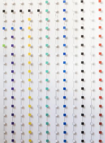 Lucie Schenker, Aus dem Quadrat, 1995, Kunst im öffentlichen Raum der Stadt St.Gallen, Fotografie: Anna-Tina Eberhard, St.Gallen