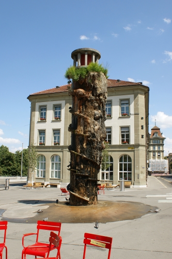Meret Oppenheim, Brunnen, 1983, Kunstsammlung der Stadt Bern