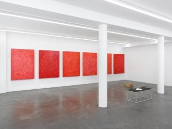 Installationsansicht, Galerie Maria Bernheim, 2020